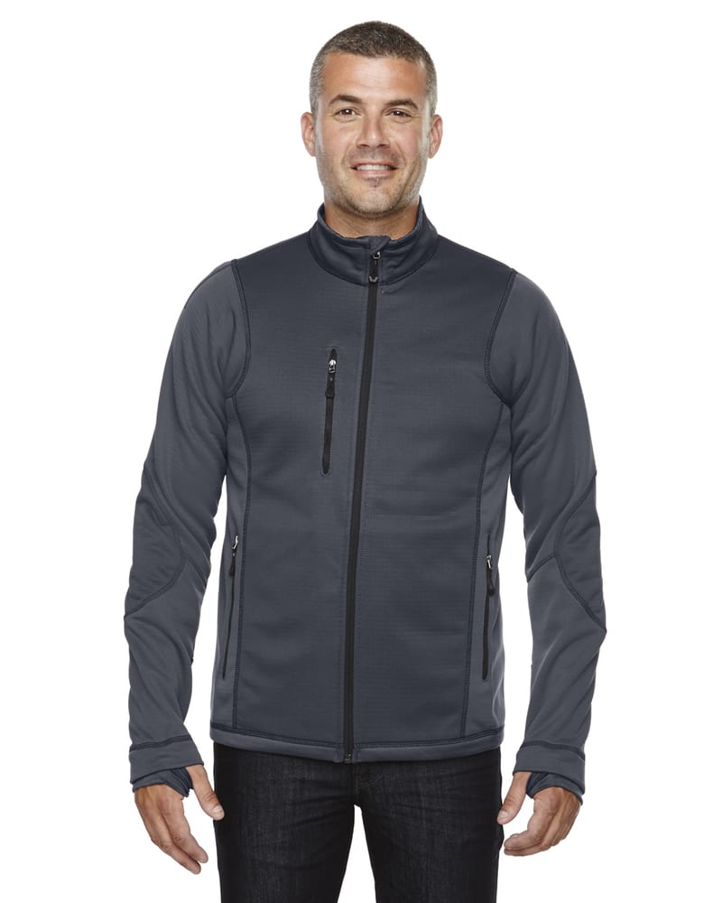 Ash City North End 88681 - Pulse Men's Textured Bonded Fleece Jackets With Print