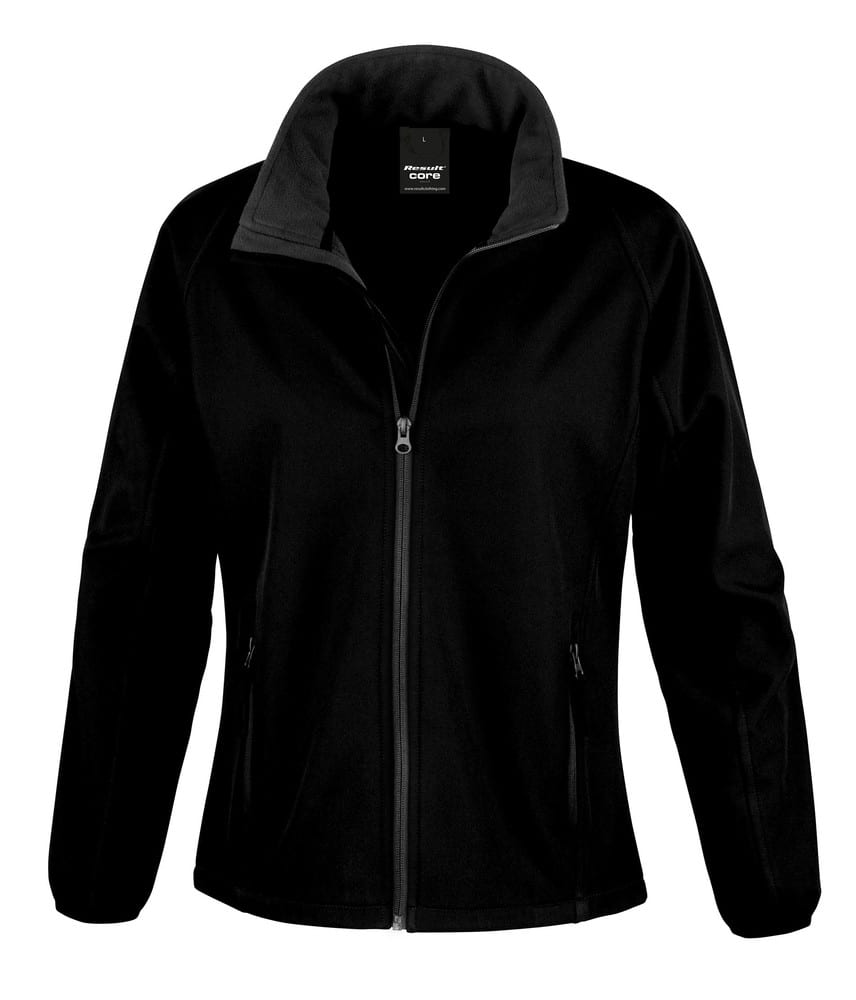 Result R231F - Core Dames Printbare Softshell