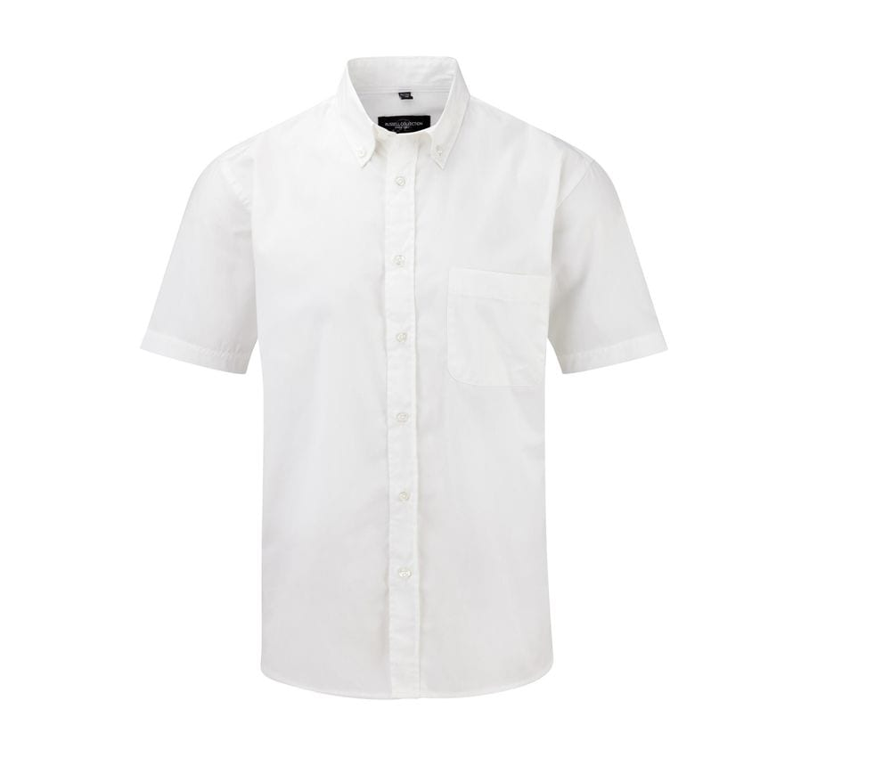 Russell Collection JZ917 - Men's Short Sleeve Classic Twill Shirt