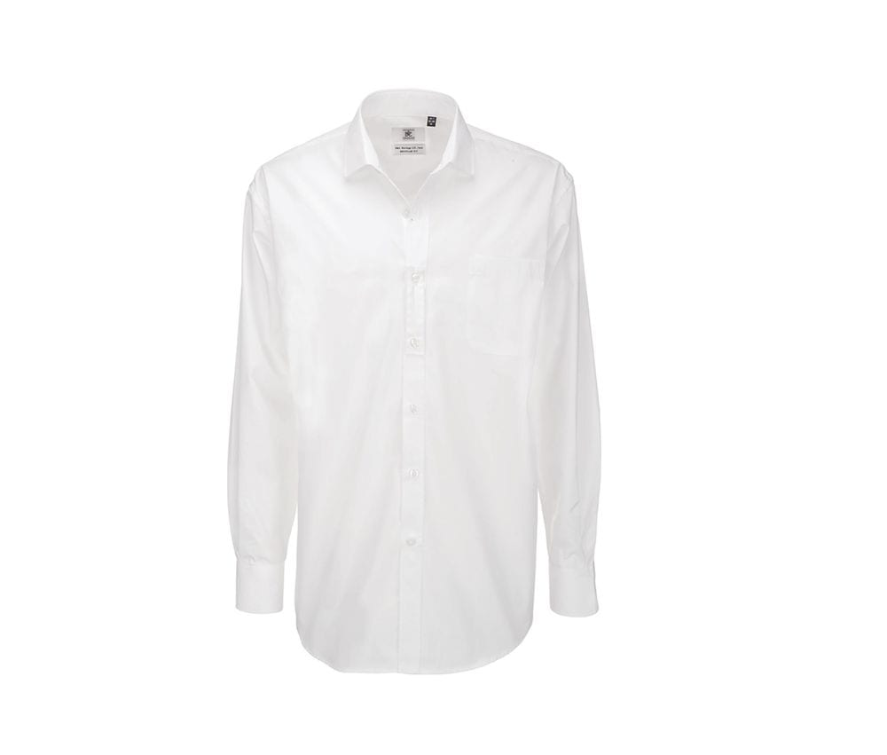 B&C BC705 - Chemise Manches Longues Homme Heritage