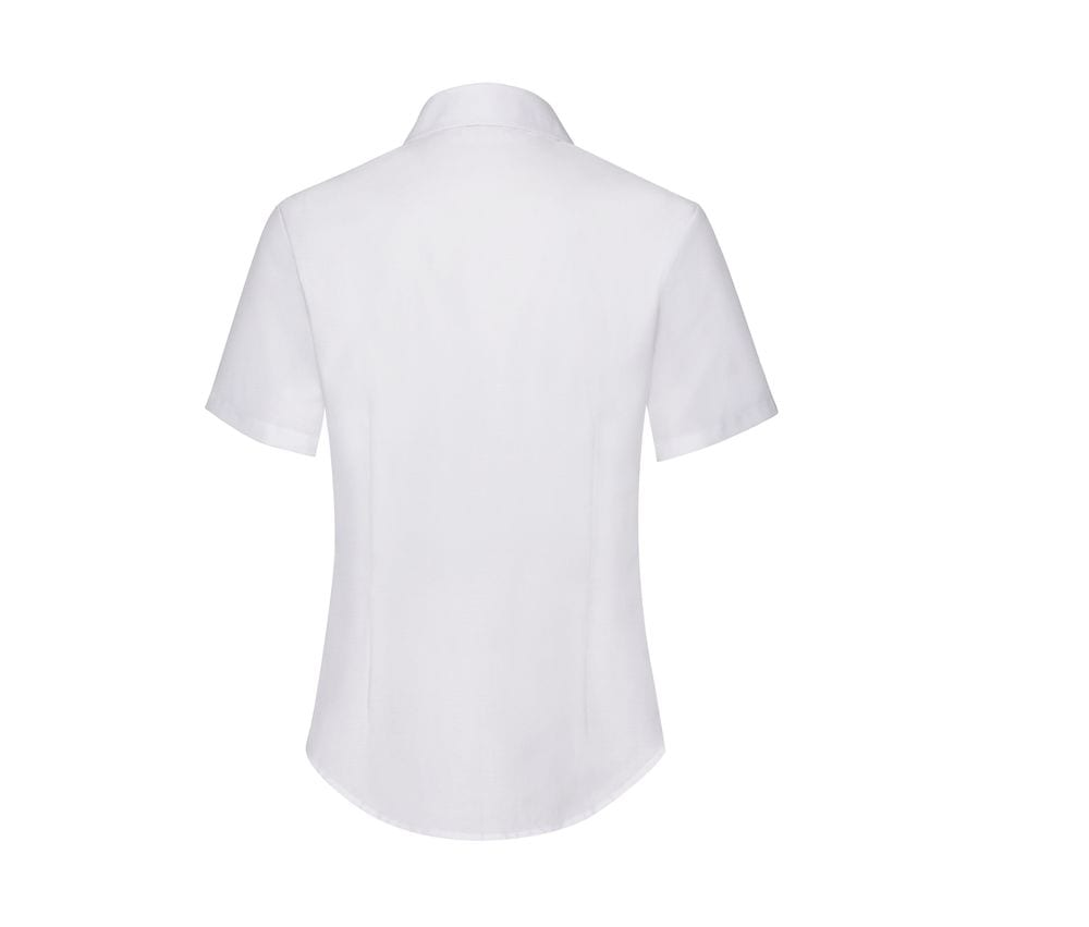 Fruit of the Loom SC406 - Lady Fit Oxford Shirt Short Sleeves (65-000-0)