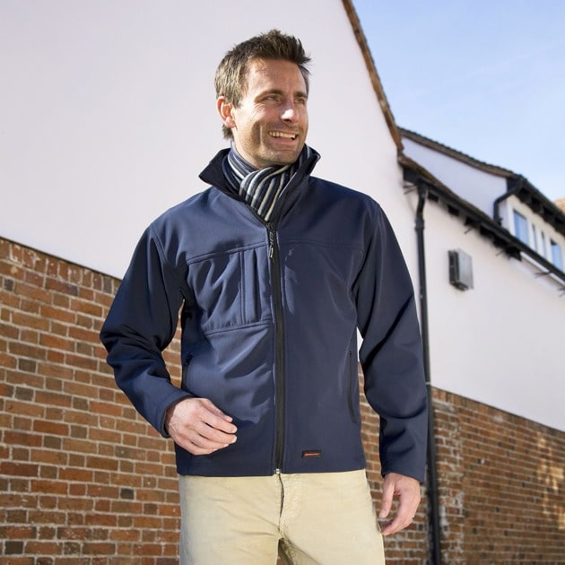 Result R121A - Classic softshell jacket