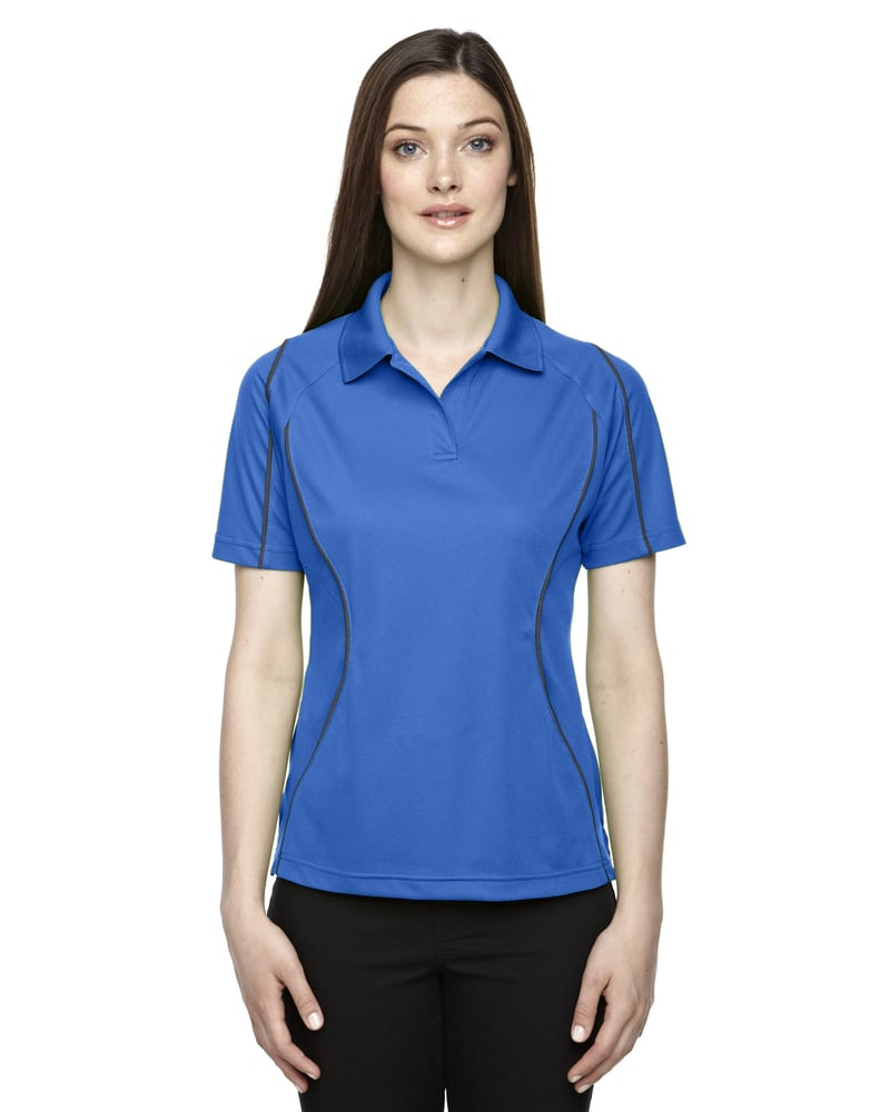 Ash City Extreme 75107 - Velocity Ladies' Snag Protection Color-Block Polo With Piping