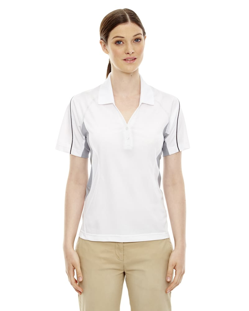 Ash City Extreme 75110 - Parallel Ladies' Snag Protection Polo With Piping