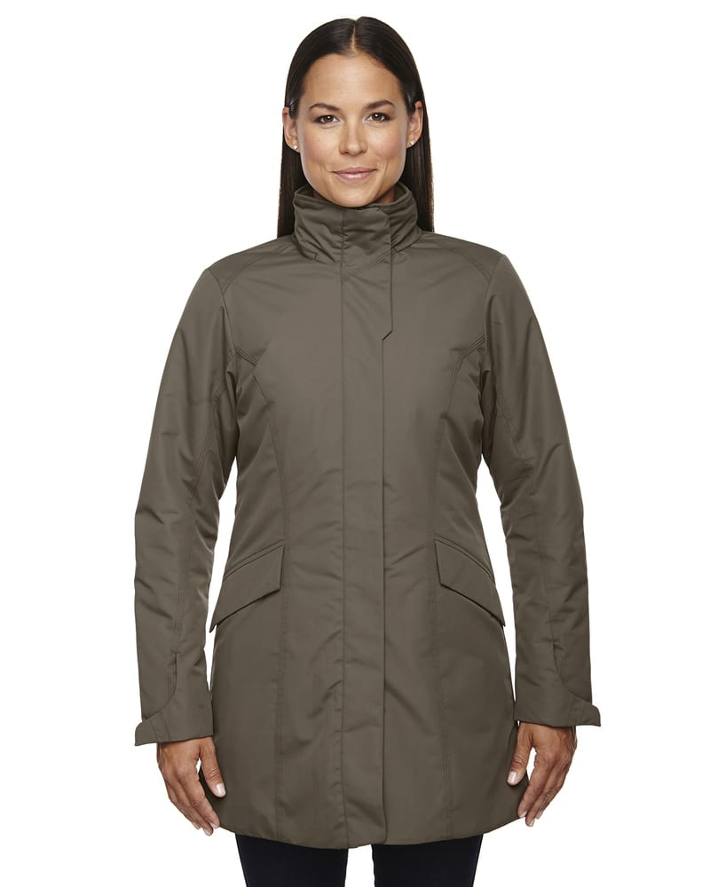 Ash City North End 78210 - Promote Ladies' Insulated Car Jackets