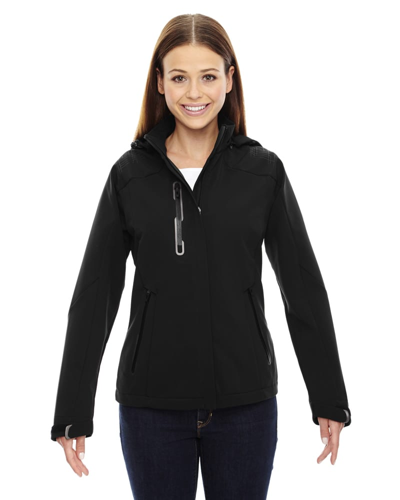 Ash City North End 78665 - Axis Ladies' Soft Shell Jacket With Print Graphic Accents