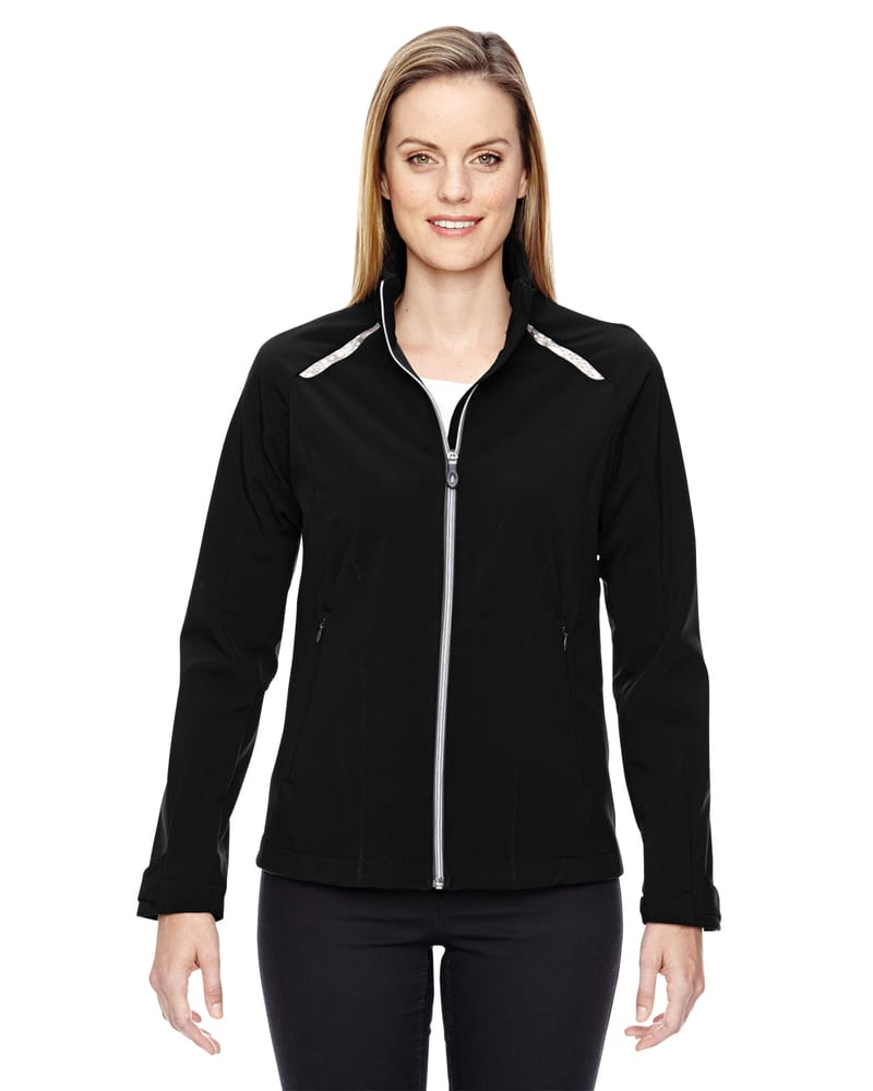 Ash City North End 78693 - Excursion Ladies' Soft Shell Jacket With Laser Stitch Accents