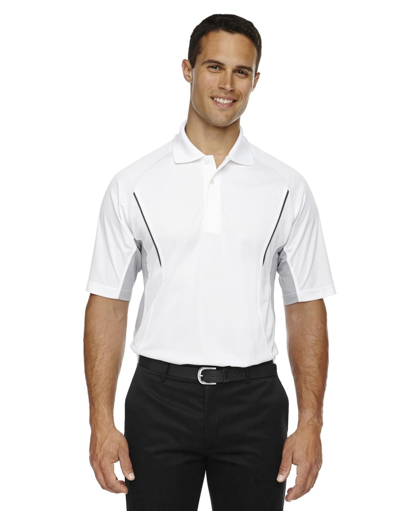 Ash City Extreme 85110 - Parallel Men's Snag Protection Polo With Piping
