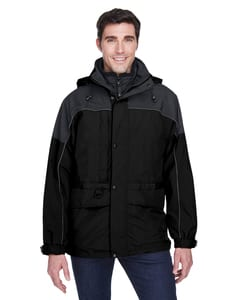 Ash City North End 88006 - Mens 3-In-1 Two-Tone Parka