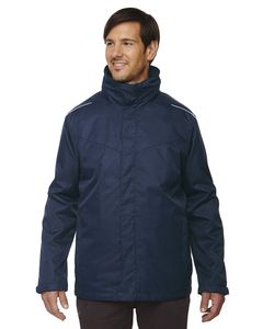 Ash City Core 365 88205T - Region Mens Tall 3-In-1 Jackets With Fleece Liner