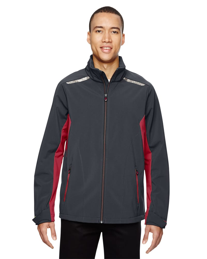 Ash City North End 88693 - Excursion Men's Soft Shell Jacket With Laser Stitch Accents