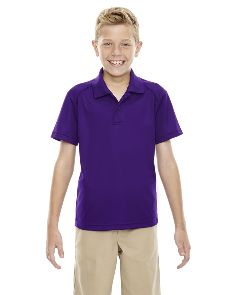 Ash City Extreme 65108 - Shield Youth Snag Protection Solid Polo