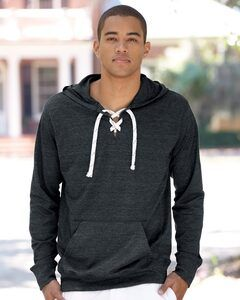 J. America 8231 - Sport Lace Jersey Hooded Pullover T-Shirt