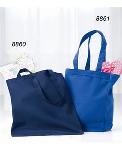 Liberty Bags 8861 - Gusseted 10 Ounce Cotton Canvas Tote