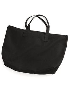 Liberty Bags 8863 - 10 Ounce Canvas Tote with Zipper Top Closure