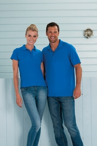 Russell RU577F - LADIES ULTIMATE COTTON POLO