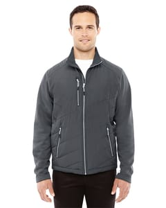 Ash City North End Sport Red 88809 - Mens Quantum Interactive Hybrid Insulated Jacket