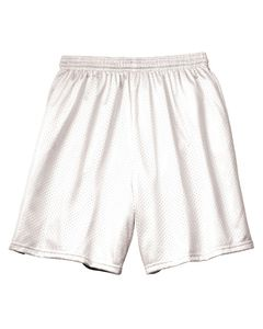"""A4 N5293 - Adult 7"""" Inseam Lined Tricot Mesh Shorts"""