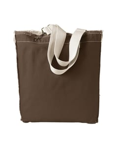 Authentic Pigment 1906 - 14 oz. Direct-Dyed Raw-Edge Tote