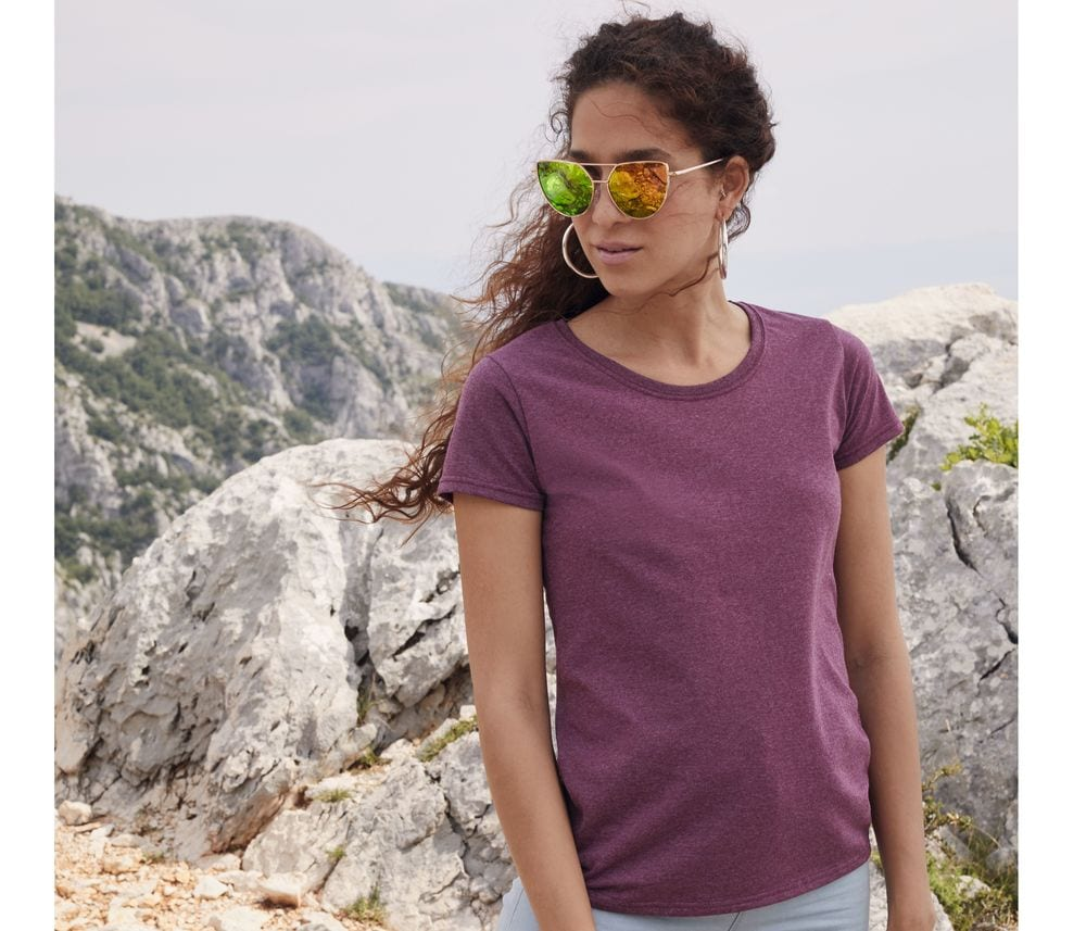 Fruit of the Loom SC600 - Dames valueweight t-shirt