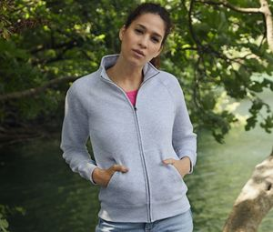 Fruit of the Loom SC366 - Lady-Fit Sweat Jacket