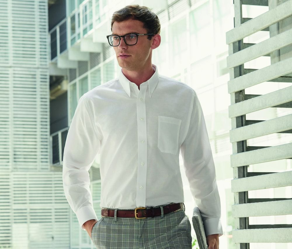 Fruit of the Loom SC400 - Oxford Shirt Long Sleeves