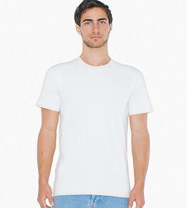American Apparel 2001W - IMPORTED UNISEX FINE JERSEY TEE