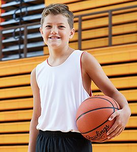 A4 NB2375 - YOUTH REVERSIBLE JUMP JERSEY