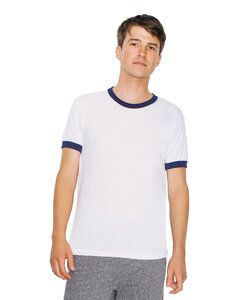 American Apparel AABB410W - Unisex Poly-Cotton Ringer Tee