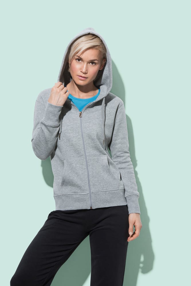 Stedman STE5710 - Sweater Hooded Zip Active for her