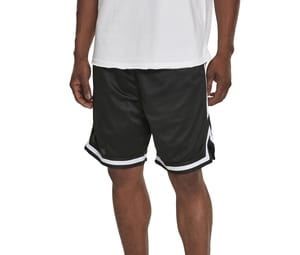 Build Your Brand BY047 - bicolor mesh net shorts