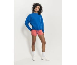 BUILD YOUR BRAND BY058 - Sweat femme oversize col rond