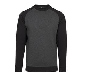 BUILD YOUR BRAND BY076 - Sweat manches raglan