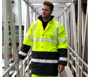Result RS452 - Two-tone safety parka
